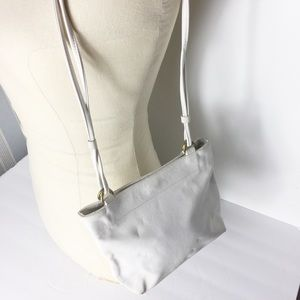 Coach White Cowhide Leather Romantic Shoulder Bag